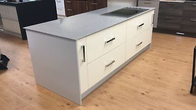 Ex display kitchen island closing sale daval hobcreamwhite units ex display kitchen island closing sale daval hobcreamwhite unitsworktop workwithnaturefo