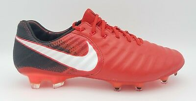 Nike Tiempo Legend VII 7 FG Leather 897752-616 Fire and Ice Pack Red White 9abacb41684