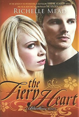 Richelle Mead Fiery Heart A Bloodlines Novel AUTOGRAPHED SIGNED