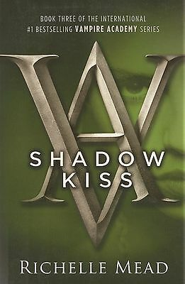 Vampire Academy Shadow Kiss Book 3 Richelle Mead AUTOGRAPHED SIGNED