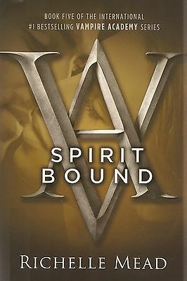 Vampire Academy Spirit Bound Book 5 Richelle Mead AUTOGRAPHED SIGNED