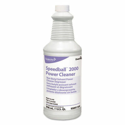Diversey Speedball 2000 Heavy-Duty Cleaner, Citrus, Liquid, 1qt. Spray Bottle, 1