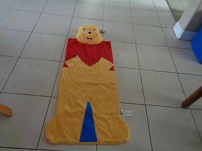 Disney Store Exclusive Winnie the Pooh Large Nap Mat 54X25 NWT