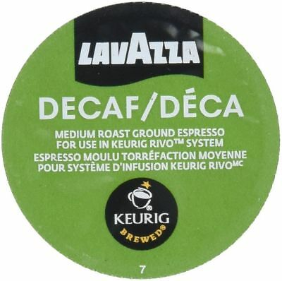 Lavazza Espresso Decaf Coffee 18 to 90 Count Keurig Rivo Pods Pick Any Size