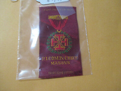 Vintage Mason Cigarettes Silk Picomin Chief Masons Will Combine Ship
