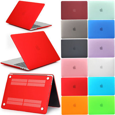 """Rubberized Hard Shell Laptop Case For Macbook Air Pro Retina 11"""" 12"""" 13"""" 15"""""""