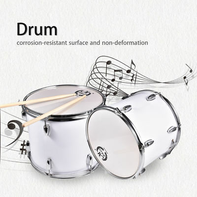 Marching Snare Drum Kit With Bag &Drumsticks&Drum Key 40.5 x 32cm Percussion
