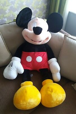 Giant Mickey Mouse teddy Disney Store Exclusive excellent condition gift