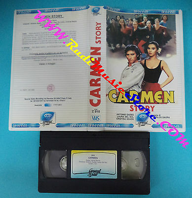 VHS film CARMEN STORY 1983 Antonio Gades Laura Del Sol GENERAL VIDEO(F53) no*dvd
