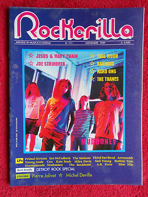 rivista ROCKERILLA 111/1989 Mudhoney Bauhaus Sub Pop Thanes Monks   No cd
