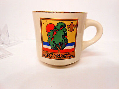 Mug Boy Scouts BSA 1973 National Scout Jamboree Cup Farragut State Park, Idaho