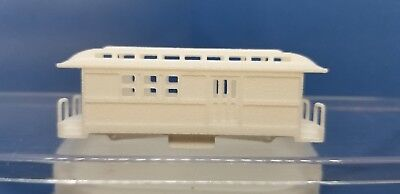 Z Scale Overton Undec Unassembled Combine Kit (trucks/couplers not included)