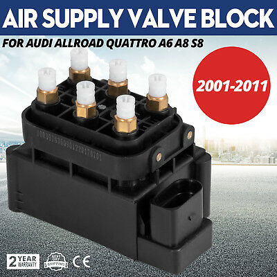 m Air Supply Valve Block For Audi Allroad Quattro 2.7 Local Audi C6 A6 D3 A8 u