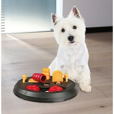 TRIXIE Pet Products Flip Board Interactive Pet Dog Treat Toy Puzzle (Level 2)!