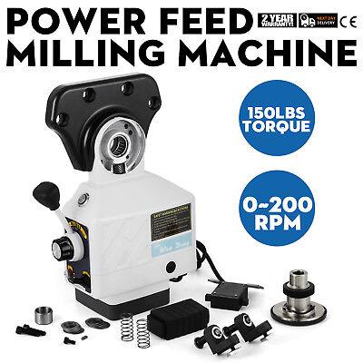 AS-250 X-Axis Power Feed Milling Machine ALSGS Bridgeport Type Milling Machines