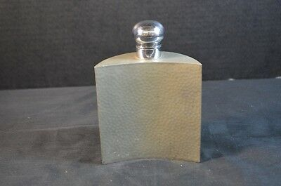 Vintage Liberty & Co. Arts and Crafts Pewter Flask