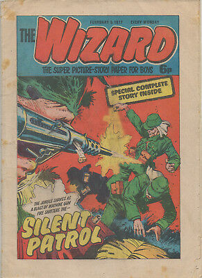 The Wizard 5Th Feb 1977 Very Good Dc Thomson Uk Comic