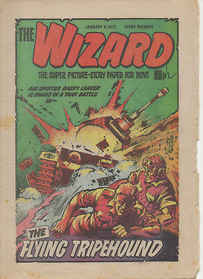 The Wizard 8Th Jan 1977 Fine Dc Thomson Uk Comic