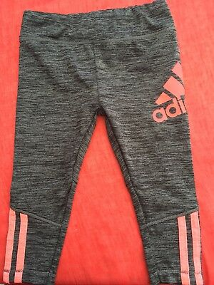 Adidas Baby Girl Grey and Pink Size 9 Months