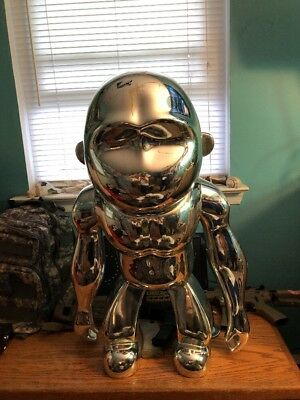 KIPLING MONKEY ROBOTIC CHROME 3ft DISPLAY