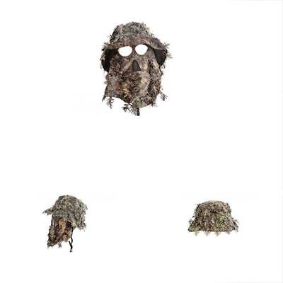Mossy Oak Obsession Camouflage 3D Leafy Bucket Hat With Hunting Face Mask  (58 21114ea07239