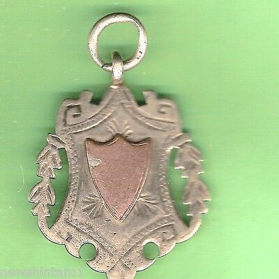 #d59.  1911 Silver Fob - Fund Raising  Prize Walsall Cottage Hospital