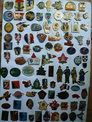 PINS insigne A IDENTIFIER lot collection PINS ARMEE MILITAIRE  lot # 1