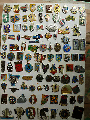 PINS insigne A IDENTIFIER lot collection PINS ARMEE MILITAIRE lot # 2
