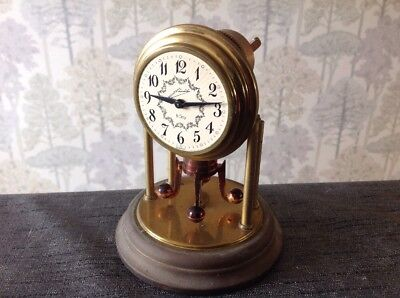 Vintage 8 Day 400 Day Anniversary Style Clock For Repair Spare Parts 120x100mm