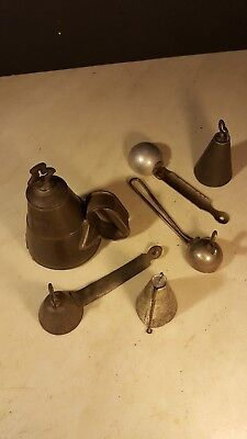 Antique Ice Cream Scoop Disher Assortment Unusual Turn of the Century Group