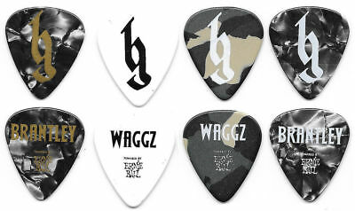 Brantley Gilbert Tour Guitar Pick Set! 4 Authentic Tour Picks!