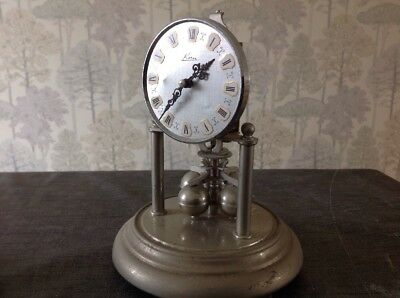 Vintage Kern 400 Day Anniversary Clock Chrome Untested For Repair 190x140mm