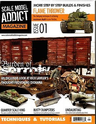 Scale Model Addict Model Magazine Set - Issue #1 - 5 Modelling Techniques & Tips
