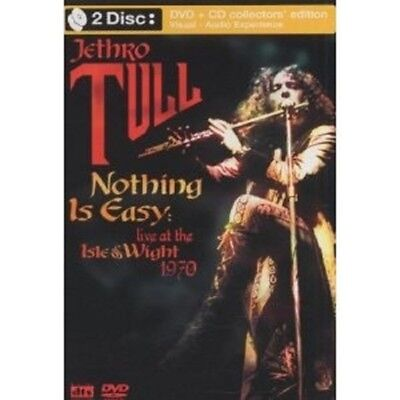 "Jethro Tull ""nothing Is Easy: Live At The Isle Of Wight 1970"" Dvd+Cd New+"