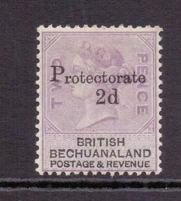 BECHUANALAND SG42 QV 2d on 2d Lilac and Black Fine MINT Hinged Cat £45