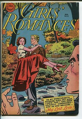 GIRLS' ROMANCES #12 1951-DC-CANADIAN VARIANT-CLASSIC ISSUE-fn