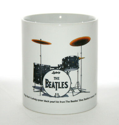 Drum Mug. Ringo Starr's Drum Kit from the 1965 Shea Stadium concert.