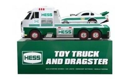 New 2016 Hess Toy Truck And Dragster New In Box