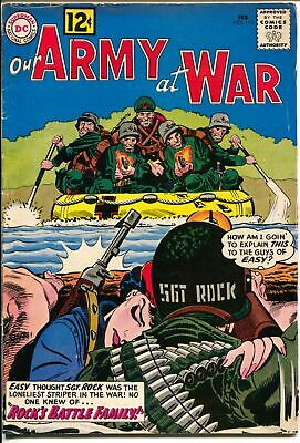 Our Army at War #115 1962-DC-Sgt Rock-Mlle Marie crossover-Joe Kubert-VG+
