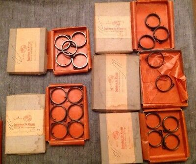 Clock Mainsprings 20 NOS Marked W (Westclox?) Clockmakers Spare Parts Collection