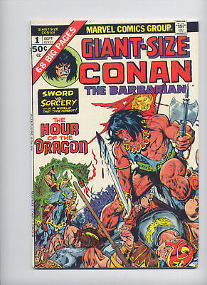 Giant-Size Conan #1 (Sept 1974, Marvel) Nice Newsstand Copy,  See the Scans.