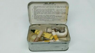 WW2 WWII US Army Airborne USMC First Aid Snake Bite Kit for Medic Bag or Pouch