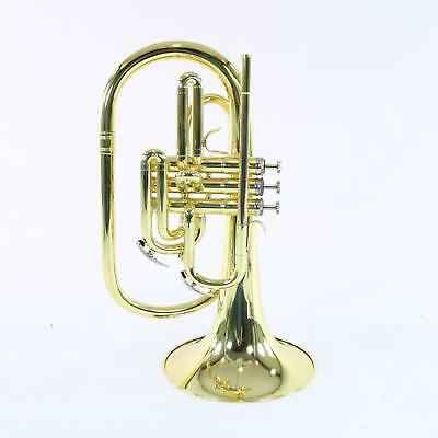 Nirschl E102LQ Marching Mellophone In Lacquer SN E000612 DISPLAY MODEL