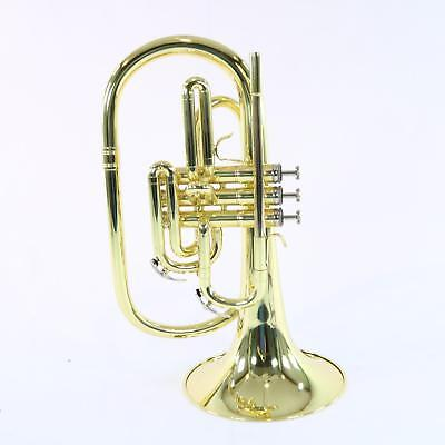 Nirschl E102LQ Marching Mellophone In Lacquer SN E000603 DISPLAY MODEL