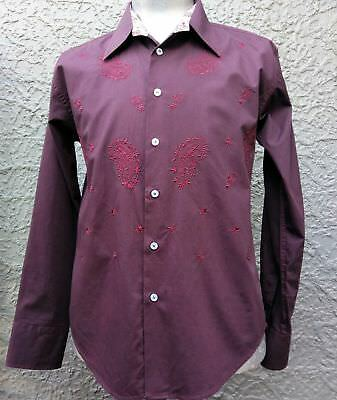 Men's Embroidered Cotton shirt by 'Gauge' size L