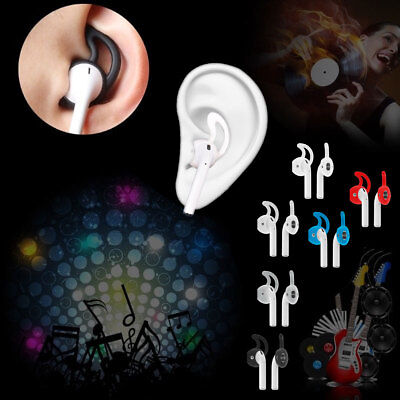 Pairs Silicone Ear Hooks Earbuds For Apple AirPods AirPod Sports Accessories