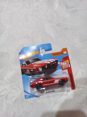 HotWheels   THEN NOW    THEN AND NOW   67 MUSTANG      4/10       NEU