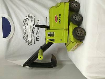 Vintage Tonka Green Back Hoe in Good Condition.