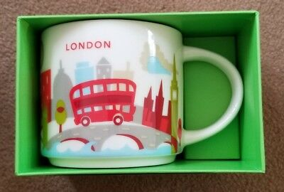 Starbucks London YAH Mug, 14oz Collectors. Fast Shipping, Item in USA!