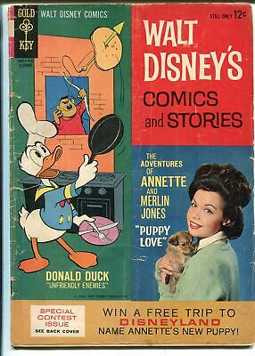 Walt Disney's Comics and Stories #289 1964-Gold Key-Carl Barks-Annette-GOOD